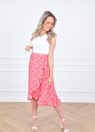 Nila skirt pink