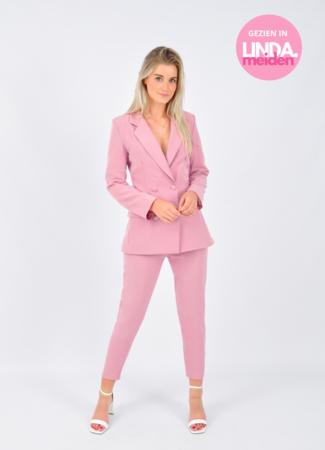 TESS V suit pink
