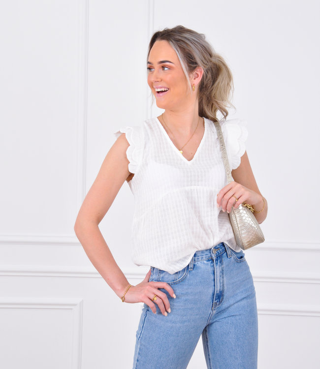 Esila blouse white
