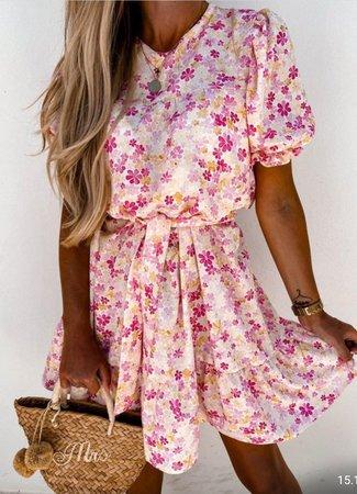 Jill dress flower