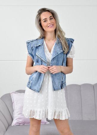Jara dress white