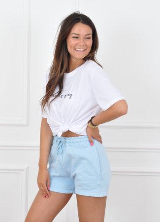 Beverly short blue