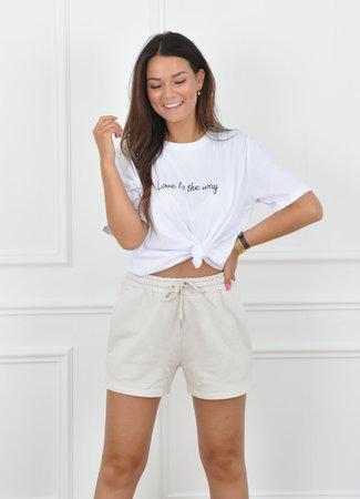 Beverly short beige