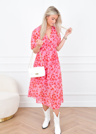 Emily maxi dress pink