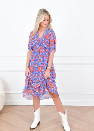 Emily maxi dress blue