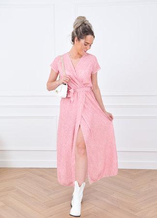Loeka maxi dress pink