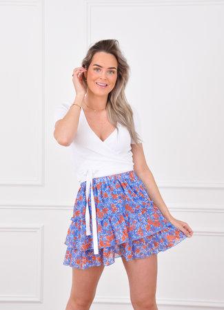 Lolie skirt blue