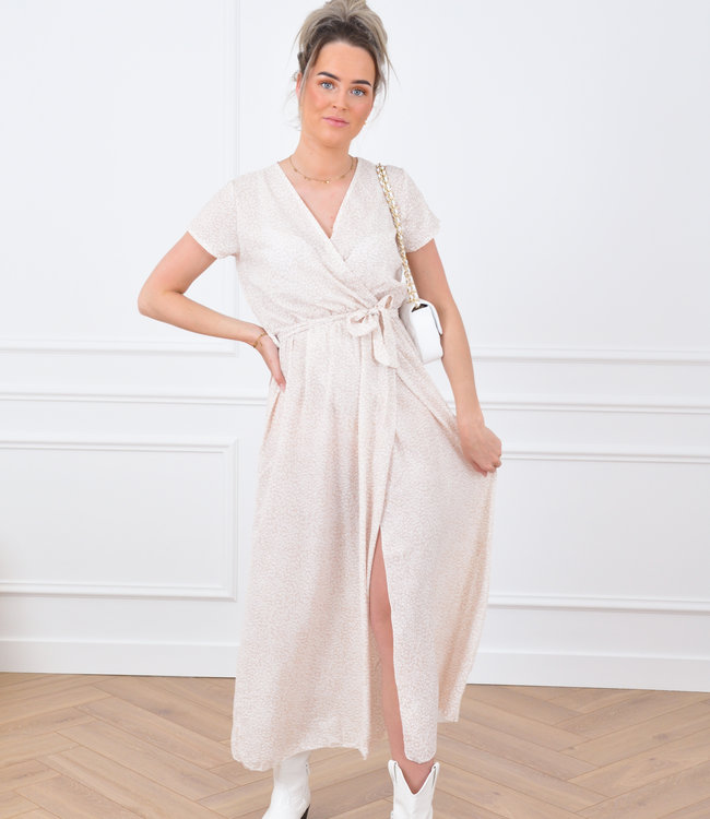 Loeka maxi dress beige