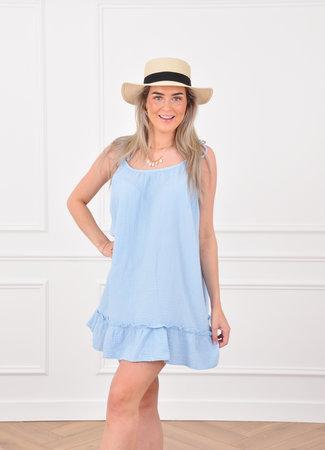Loula dress blue