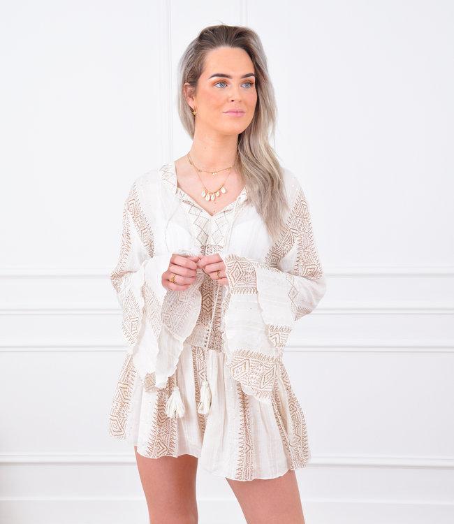 Laylie dress white