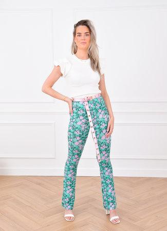 Dowie flared pants lila