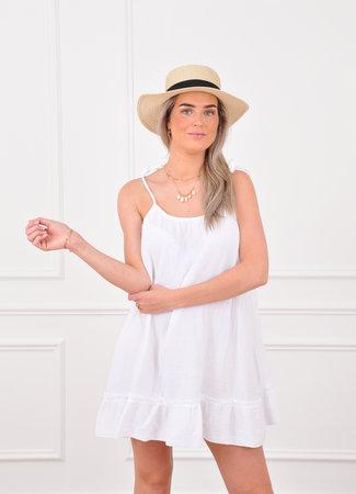 Loula dress white