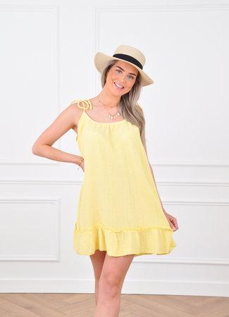 Loula dress yellow