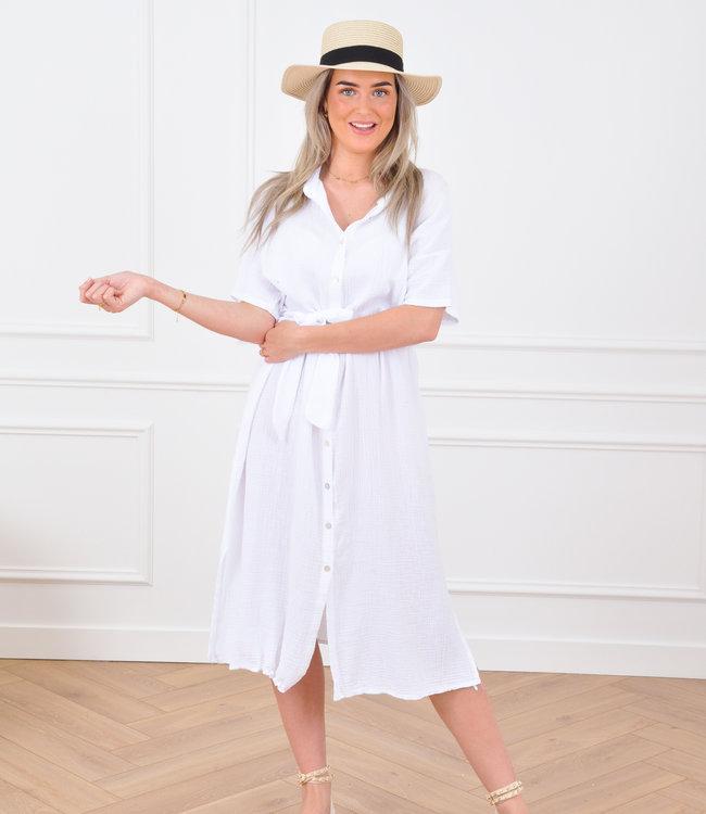 Janie dress white