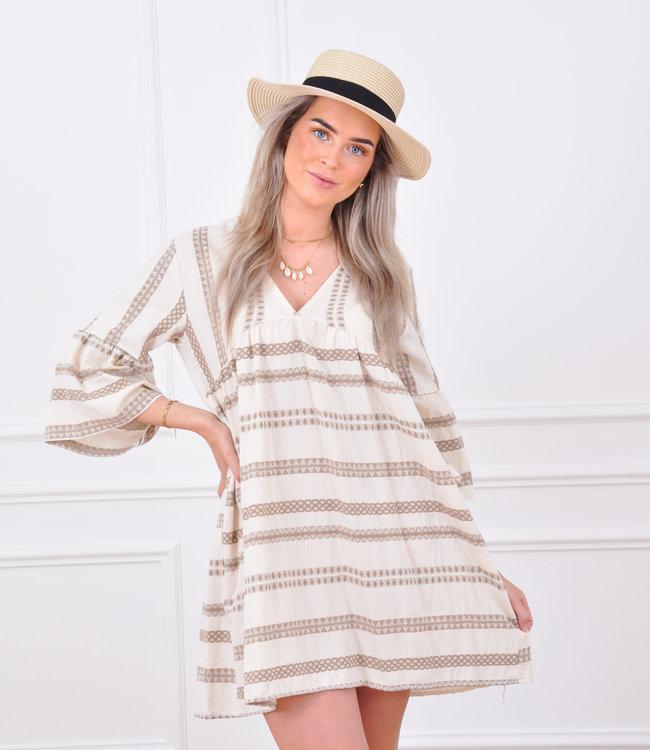 Rosa summer dress beige