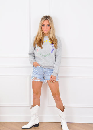 Anna sweater grey