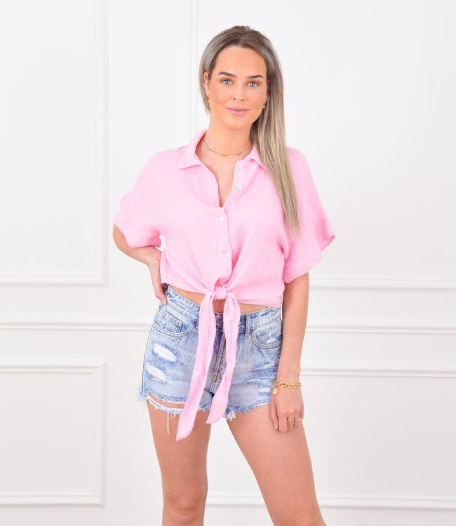Louna blouse pink