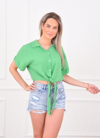 Louna blouse green