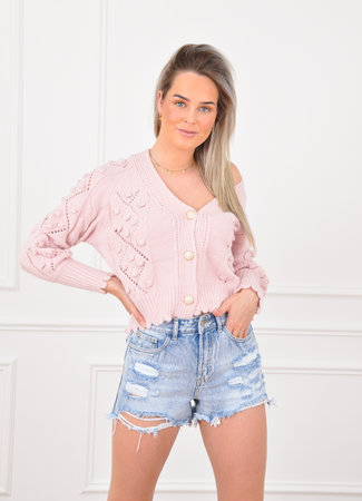 Lucy vest pink