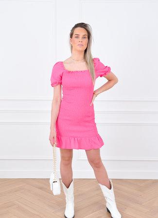 Joy dress pink