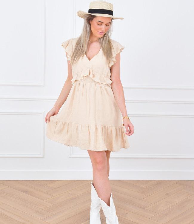 Luva dress beige