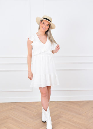 Luva dress white