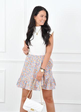 Kirsten skirt orange