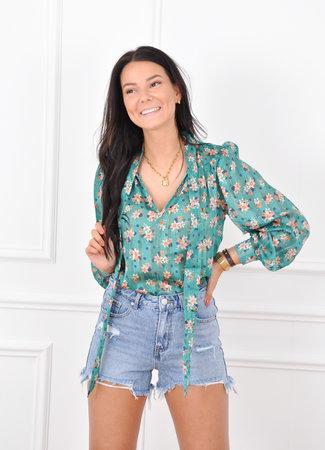 Danae blouse green