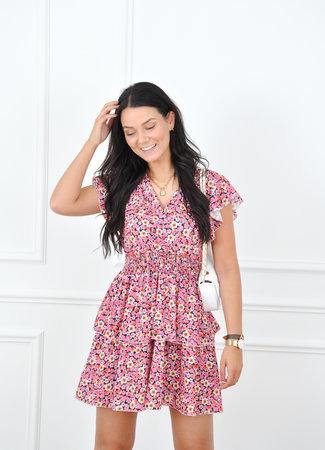 Bibi dress pink