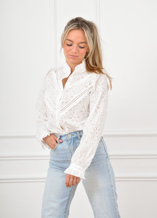 Nynke blouse white