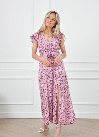 Louen maxi dress pink