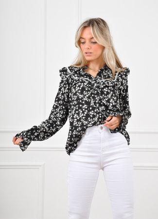 Roos blouse black