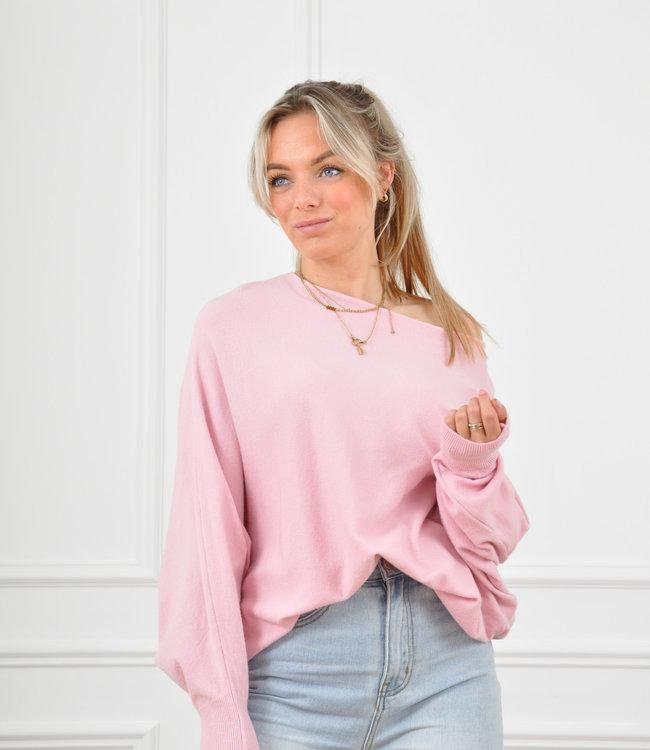 Xan knit pink