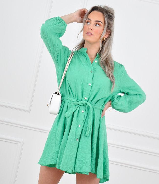 Diana dress dark green