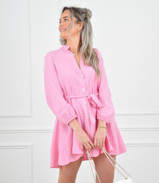 Diana dress pink