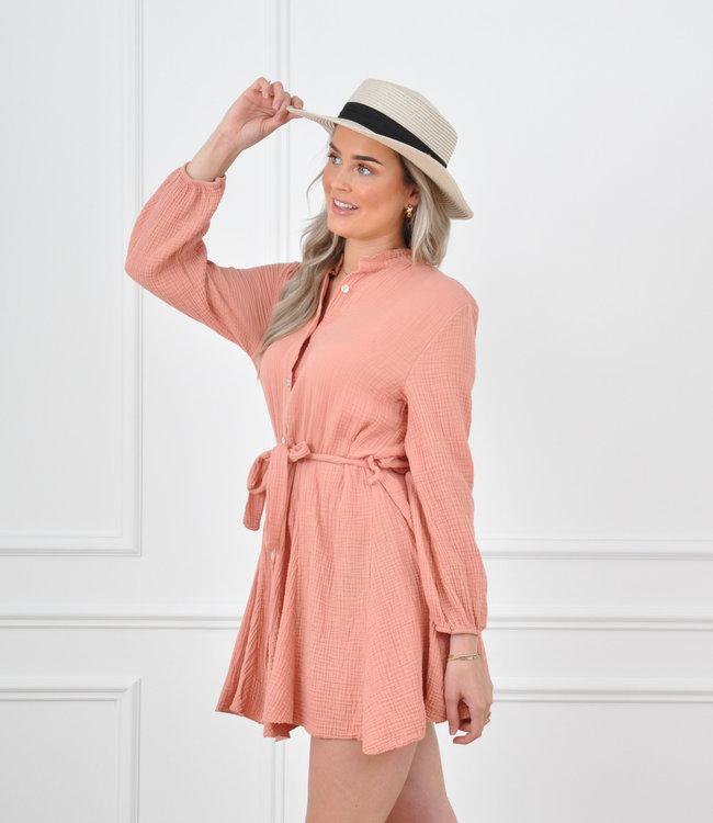 Diana dress peach