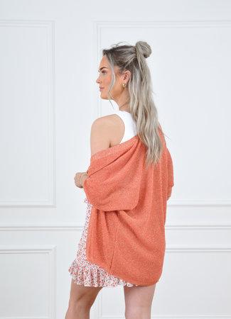 Suze vest orange
