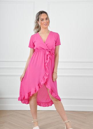 Vic maxi dress pink
