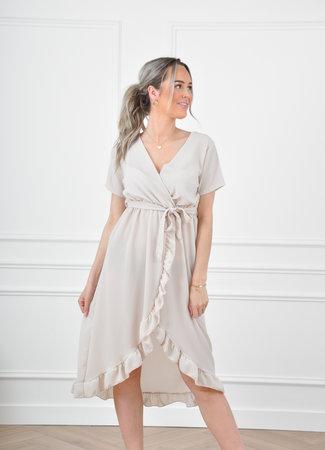 Vic maxi dress beige