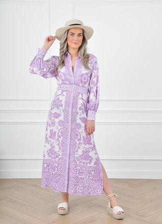 Jaim maxi dress lila