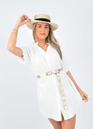 Lieke dress white