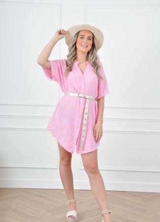Lieke dress pink