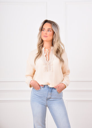 Alize blouse beige