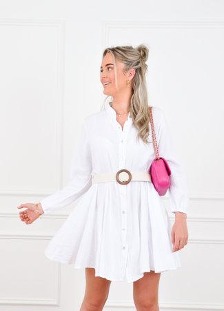 Brittany dress white