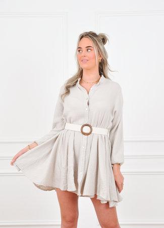 Brittany dress beige