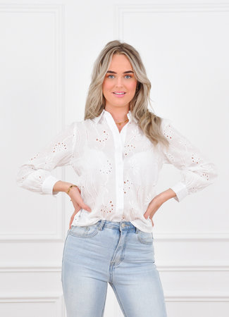 Jaydie blouse white