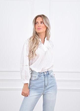 Evy blouse white