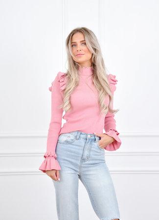Fay knit pink