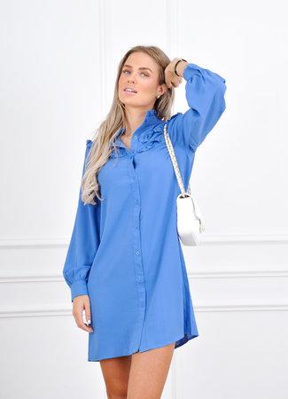 Sanne dress blue