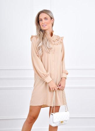 Sanne dress beige